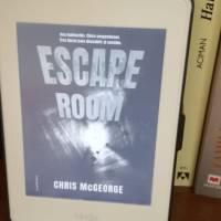 """""""Escape Room"""", de Chris McGeorge: un thriller de ritmo vertiginoso y atmósfera claustrofóbica"""
